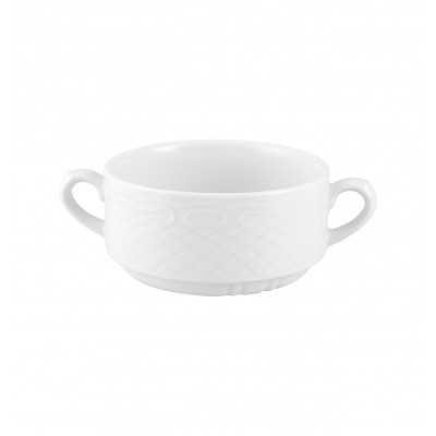 Escorial White - Consomme Cup 26cl