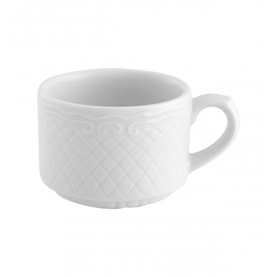 Escorial White - Breakfast Cup 27cl