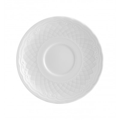 Escorial White - Consomme/ Breakfast Saucer