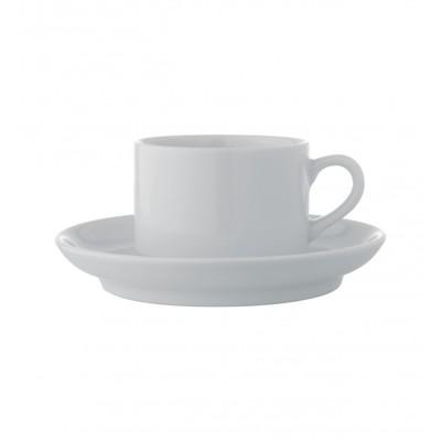 Estoril White - Coffee Cup & Saucer 12cl