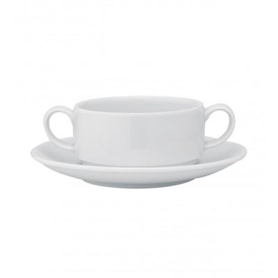 Luna - Consomme Cup & Saucer St. 29cl