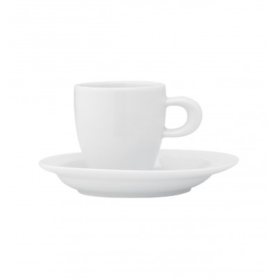 Organic White - Coffee Cup & Saucer 8cl