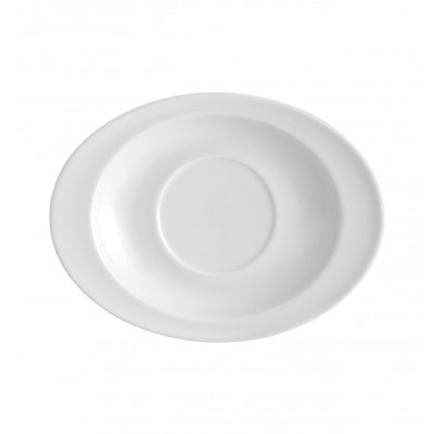 Organic White - Consomme Saucer 31cl