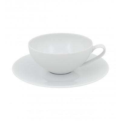 Modo White - Tea Cup & Saucer