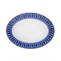 AZURE LUX - Large Oval Platter 38
