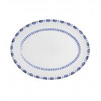 AZURE LUX - Medium Oval Platter 35