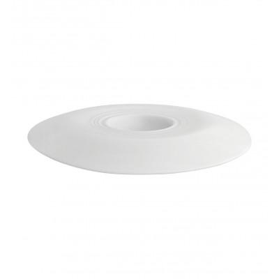 Theatre White - Large Rim Plate 27