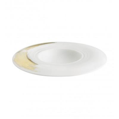 Gold Stroke - Soup Plate 27