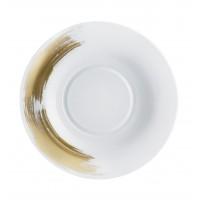 Gold Stroke - Dessert Plate 25