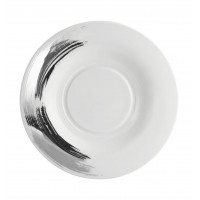 Platinum Stroke - Dessert Plate 25
