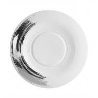 Platinum Stroke - Dinner Plate 30