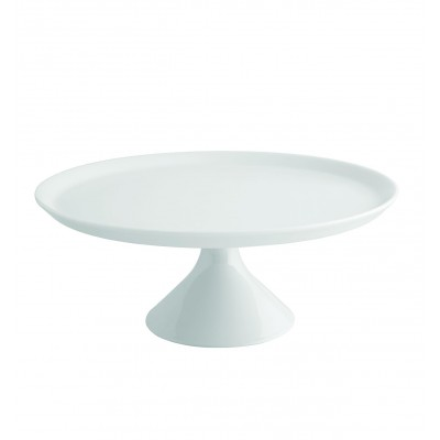 Modo White - Large Footed Cake Plate