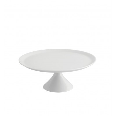 Modo White - Small Footed Cake Plate