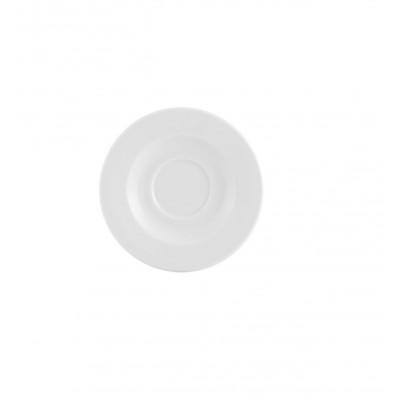 Estoril White - Coffee Saucer Liso