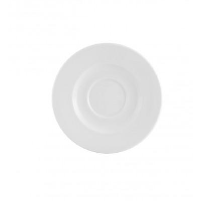 Estoril White - Breakfast Saucer Liso