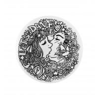Artville - Large Plate Infinita Kiss