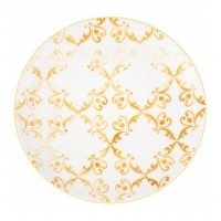 Tiles Amarelo - Round Charger Plate 33