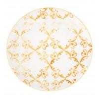Tiles Amarelo - Round Dessert Plate 22