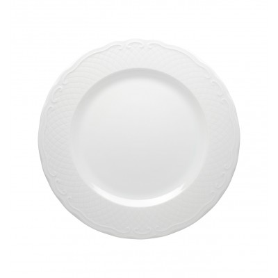 Escorial White - Charger Plate 32