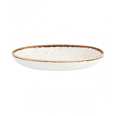 Rustic Blend White - Oval Tray 27 RB WH