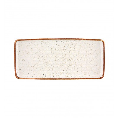 Rustic Blend White - Rectangular Tray 36,5 RB WH