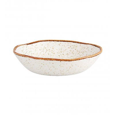 Rustic Blend White - Soup Plate 22 RB WH