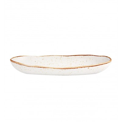Rustic Blend White - Oval Tray 34,5 RB WH