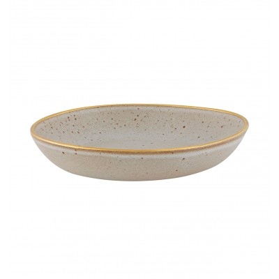 Gold Stone - Pasta Plate 22 White