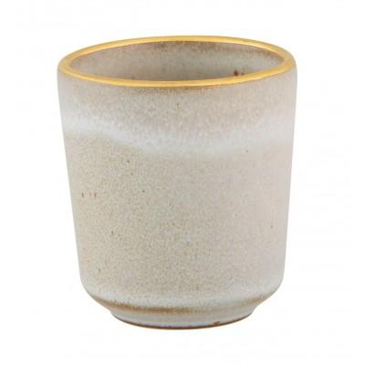 Gold Stone - Bowl 9cl White