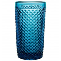 Bicos Azul - Set with 4 Highballs Blue