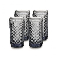 Bicos Cinza - Set with 4 Highballs Grey