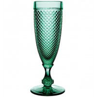 Bicos Verde - Set with 4 Flutes Green