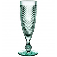 Bicos Verde - Set with 4 Flutes Mint Green