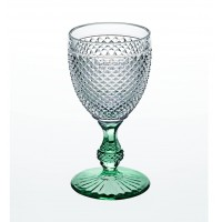 Bicos Bicolor - Goblet with Green Stem