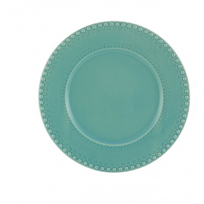 Fantasia Stoneware - Charger Plate 33 Turquoise