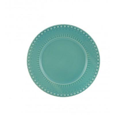 Fantasia Stoneware - Dinner Plate 28 Turquoise