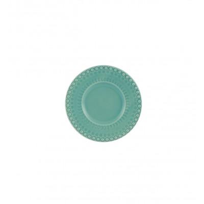 Fantasia Stoneware - Butter & Bread Plate 17 Turquoise