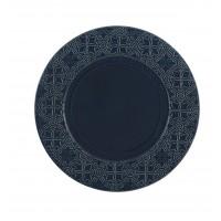 Rua Nova Stoneware - Charger Plate 32,8 Dark Blue