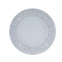 Rua Nova Stoneware - Charger Plate 32,8 White Antique