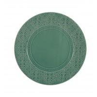 Rua Nova Stoneware - Charger Plate 32,8 Turquoise