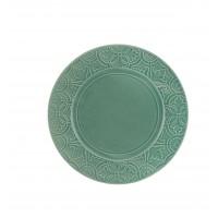 Rua Nova Stoneware - Dinner Plate 28 Turquoise
