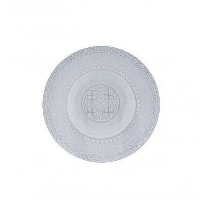 Rua Nova Stoneware - Soup Plate 25 White Antique
